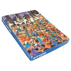 Party Animals Springbok Jigsaw Puzzle