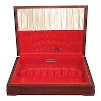 Oneida Community Silverware Box Flatware Storage Chest