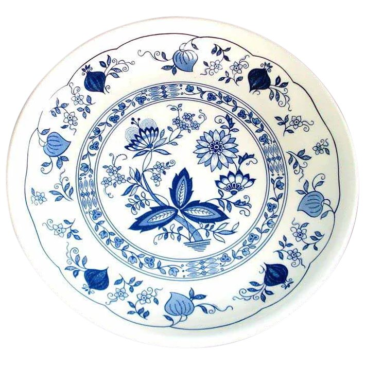 3 Biltons England Blue Onion Dinner Plates SOLD | Ruby Lane