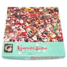 Keepsake Santas Springbok Jigsaw Puzzle Hallmark Ornaments