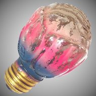 1930s Standard Base Figural Rose Light Bulb Working