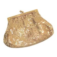 Duramesh Gold Mesh Evening Bag