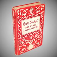 Betty Crocker's Picture Cookbook 1950 First Edition, Second Printing