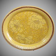 Franciscan Amapola Oval Serving Platter