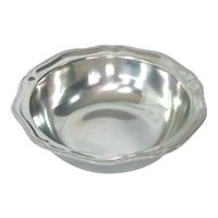Wilton Armetale Pewter Queen Anne Vegetable Bowl