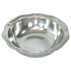 Wilton Armetale Pewter Queen Anne Vegetable Bowl