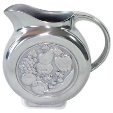 Wilton Pewter Armetale Fruit Disc Water Pitcher Mint