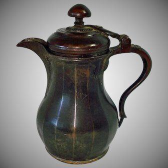 Antique Copper Syrup Dispenser Early to Mid 1800s
