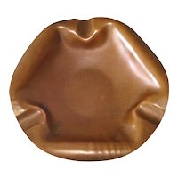 Drumgold Arrowhead 3 Sided Hand Wrought Copper Ashtray