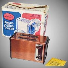 Sunbeam Copper Toaster in Original Box