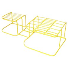 Rubbermaid Vinyl Coated Wire Dish and Plate Storage Rack
