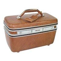 Samsonite Hardshell Train Case Cosmetic Travel Suitcase
