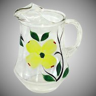 Dixie Dogwood 72 Ounce Glass Pitcher