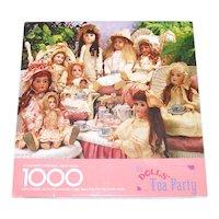 Dolls Tea Party Springbok 1000 Piece Jigsaw Puzzle