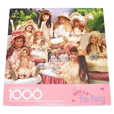 Dolls Tea Party Springbok 1000 Piece Jigsaw Puzzle