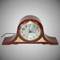 Sessions 1930s Art Deco Electric Mantle Clock