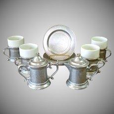 Wilton Armetale Plough Tavern 10 Piece Coffee Dessert Set