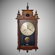 Linden 31 Day Chiming Pendulum Wall Clock