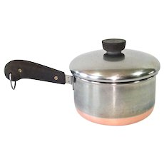 Revere Ware Copper Clad Stainless Steel 1.5 Quart Covered Saucepan