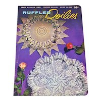 Ruffled Doilies 1954 Coats Clark Crochet Pattern Booklet