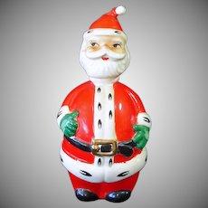Lefton Christmas Santa Claus Decanter