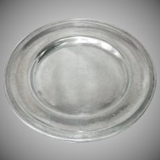Wilton Pewter Armetale Plough Tavern Dinner Plates, 4 Available