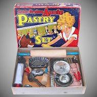 1930s Orphan Annie Pastry Play Set Toy Kitchen Bakeware
