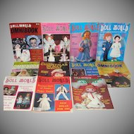 11 Issues National Doll World Magazine 1984