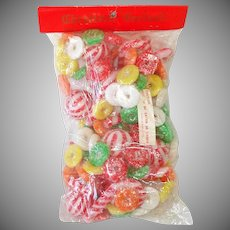 Package Lifesavers Candy Cane Soft Plastic Christmas Garland