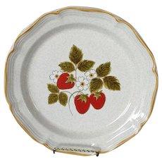 Mikasa Strawberry Festival Dinner Plate, 8 Available