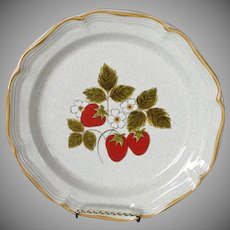 Mikasa Strawberry Festival Dinner Plate, 3 Available