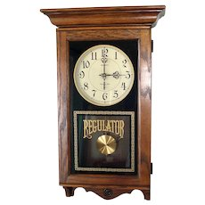 Howard Miller Regulator Chiming Pendulum Wall Clock USA