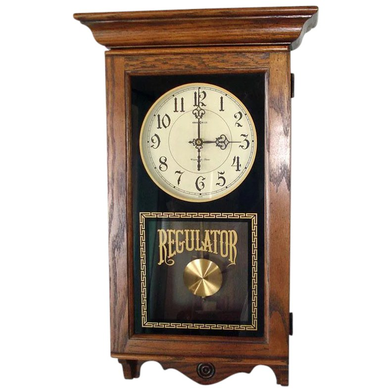 Regulator Chiming Pendulum Wall Clock