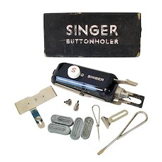 Singer Sewing Machine Buttonholer Attachment Kit