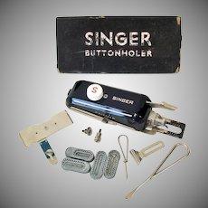 Singer Sewing Machine Buttonholer Attachment Kit