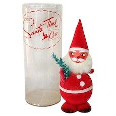 Coro Nodder Santa Time Christmas Candy Container