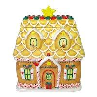 Gingerbread House Christmas Cookie Jar Hallmark