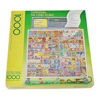 Computers: The Inside Story, Springbok 1000 Pc Puzzle Bob Martin