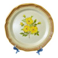 Mikasa Wild Rose Whole Wheat Dinner Plates, 4 Available
