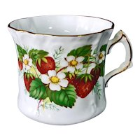 Hammersley Strawberry Ripe Bone China Cup