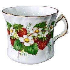 Hammersley Strawberry Ripe Bone China Cup