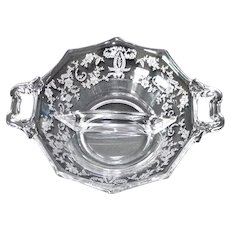 New Martinsville Prelude Divided Relish Bowl