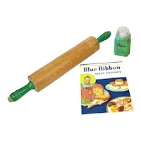 Rolling Pin, Recipe Book, Shaker Kitchen Collection