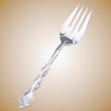 Interlude International Silver 1971 Cold Meat Fork