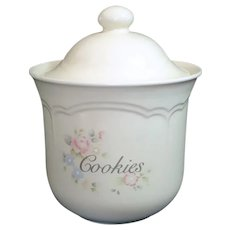 Pfaltzgraff Tea Rose Cookie Jar