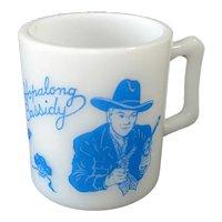 Hazel Atlas Hopalong Cassidy Child's Mug