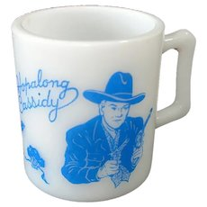 Hazel Atlas Hopalong Cassidy Child's Mug