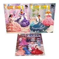 Annies Attic Birthday Belles Barbie Dress Crochet Pattern Books