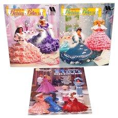 Annies Attic Birthday Belles Barbie Dress Crochet Pattern Books