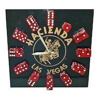 Las Vegas Hacienda Casino Dice Clock